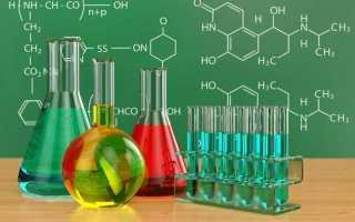 Качественные реакции в органической химии